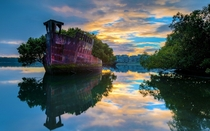 SS Ayrfiel Homebush Bay in Australia