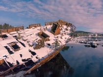 SS Charcot Shipwreck in Newfoundland