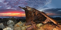 SS Dominator shipwreck remains in Palos Verdes CA