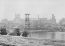 St Anthony Falls and Minneapolis Mill District