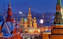 St Basils Cathedral amp Red Square Moscow