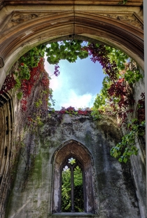 St Dunstan Church of England The church was destroyed in the Second World War and the medieval ruins are now a public garden