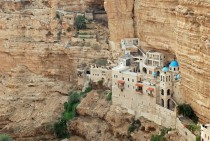 St George Orthodox Monastery in Wadi Qelt Palestinian territories