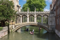 St Johns College Bridge of Sighs