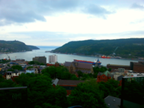 St Johns Newfoundland Taken from The Rooms