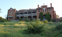 St Johns Orphanage in Goulburn New South Wales Australia  link to pics of the inside in comments