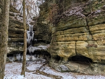 St Louis Canyon Starved Rock State Park Illinois
