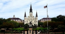 St Louis Cathedral in New Orleans taken during the quarantine while walking my dog I may never be able to get a tourist free shot again