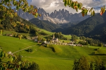 St Magdalena South Tyrol - Italy