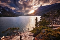 St Mary Lake in the Glacier National Park Montana  Photo by Sven Mller xpost from runitedstatesofamerica