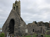 St Marys Abbey Howth Ireland Built in  on the site of an earlier church established in  by Sitric Silkbeard Viking King of Ireland