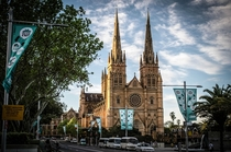 St Marys Cathedral Sydney designed by Augustus Pugin