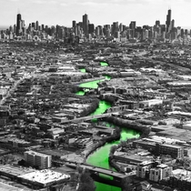St Patricks Day in Chicago