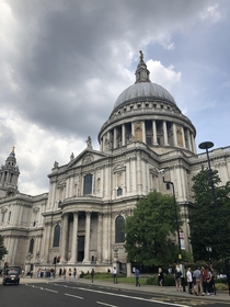 St Pauls Cathedral in London UK by Christopher Wren and Nicholas Hawksmoor