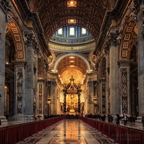 St Peters Basilica- Rome