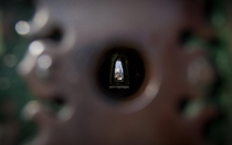 St Peters Basilica  Rome Italy through a keyhole Credit to Michael Brand