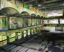 St Peters Seminary Cardross Scotland  Grade A listed brutality