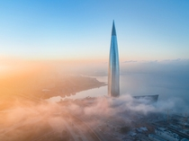 St Petersburg Russia Europes tallest building