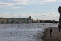 St Petersburg Russia Palace Quay from Peter and Paul Fortress