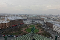 St Petersburg - View from the top of St Isaacs Cathedral