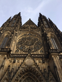 St Vitus Cathedral in Prague Czech Republic
