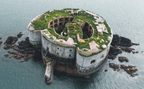 Stack rock Fort Maybe Elons secret lair in a few years