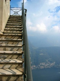 Stairway to Heaven in Lugano Switzerland