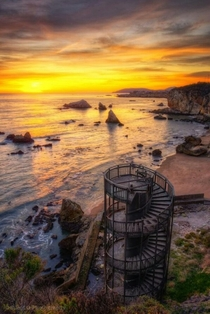 Stairway to Nowhere Pismo Beach California x