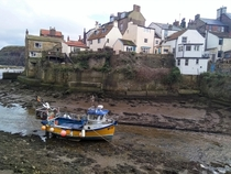 Staithes North Yorkshire England