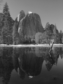 Standing in Ansel Adams footprints - Cathedral Rocks Yosemite