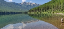 Stanton Lake Great Bear Wilderness MT USA Just south of Glacier NP