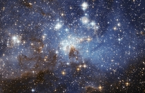 Star forming region in the Large Magellanic Cloud