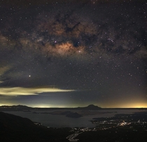Star pollution at Taal Volcano Philippines CTTO Atty Augustine T Tirona