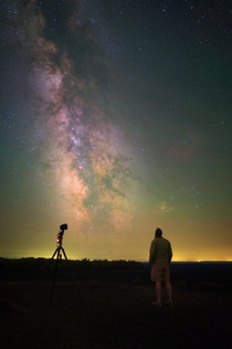 Stargazing in Craters of the Moon National Monument is one of the best spots to view the night sky