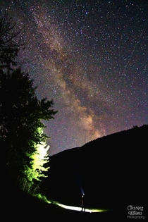 Stargazing in Marble Canyon Provincial Park BC Canada