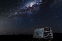Starry shack  x taken sth east qld Australia
