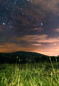 Starry skies over Vermont  OC
