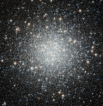 Stars in a globular cluster are up to a thousand times closer together than they are in our region of space  M Hubble