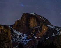 Stars over Half Dome  - a few more Yosemite pics in comments