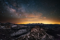 Stars over Yosemite by Sheldon Neill amp Colin Delehanty