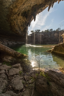 Starting the New Year  Hamilton Pool