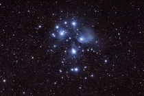 Stayed up until am to capture Pleiades with my DSLR