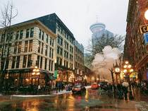 Steamy Gastown in Vancouver BC