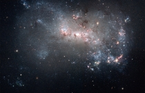 Stellar fireworks are ablaze in galaxy NGC