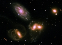 Stephans Quintet Hubble reprocessing