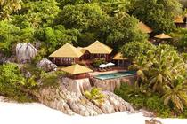Steps down to the beach - Fregate Island Seychelles