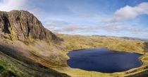 Stickle tarn and Pavey ark Lake District UK OC x