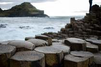 Still blown away by the shape of these rocks Giants Causeway Northern Ireland  OC