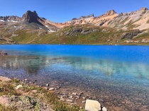Still cant believe this place is actually real Ice Lake Silverton Colorado USA
