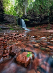 Still finding new places to explore in my home state of Wisconsin Lost Creek Falls